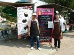ร้านไร่ไทย ภาพ การตั้ง เมนูกาแฟสด