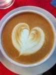 เมนูกาแฟสด ไฮย เวย์ คาเฟ่ ลาเต้ร้อน Hot Latte