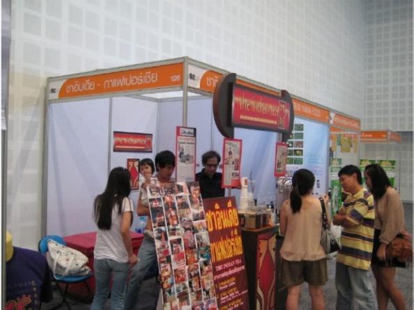 แฟรนไชส์กาแฟ-THE-INDIAN-TEA-Biz-Expo