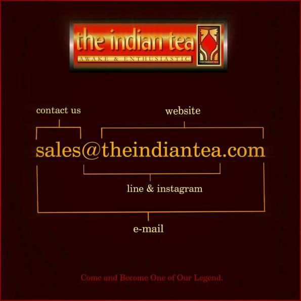 ชาอินเดีย กาแฟเปอร์เซีย #แฟรนไชส์ อร่อย ต้องลอง (Line ID : @THEINDIANTEA) Website : http://www.theindiantea.com/main/index.html#